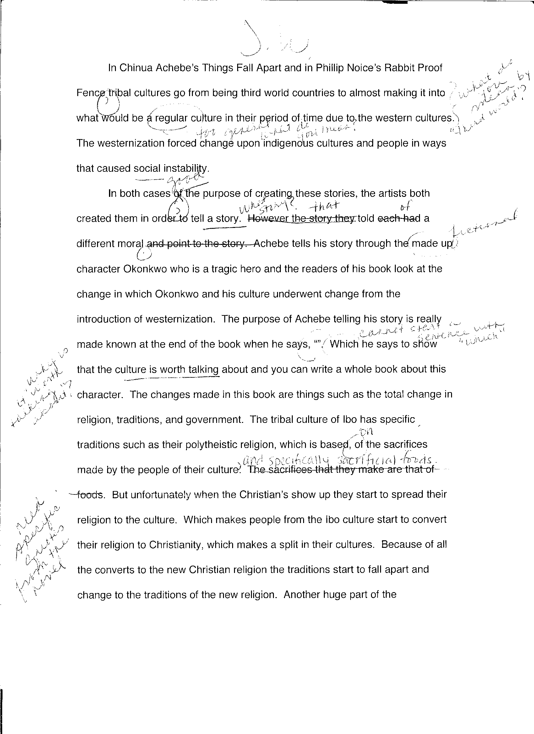 impact comparative essay allison clark eportfolio formative rough draft